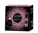 La Rive Touch of Woman perfumed water 90 ml + deodorant spray 150 ml, gift set