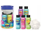 Baylis & Harding Kids Bath Foam 100 ml 2 pieces + 2 x washing gel 100 ml + 1 x shower cream 100 ml + washing sponge, cosmetic set