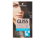 Schwarzkopf Gliss Color hair color 5-1 Cool brown 2 x 60 ml