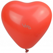 Party Time Inflatable balloons, heart 28 cm 1 piece