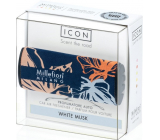Millefiori Milano Icon White Musk - White musk Car scent Textile Floral fragrance up to 2 months 47 g