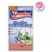 Spontex Microfibre Window microfiber cloth for windows 34 x 34 cm