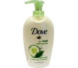Dove Go Fresh Touch Cucumber & Green Tea liquid soap with 250 ml dispenser