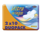 Micci Ultra Wings intimate pads with wings Duo 2 x 10 pieces