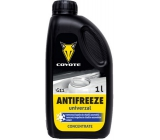 Coyote Antifreeze G11 Univerzal concentrated antifreeze for car radiators 1 l
