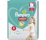 Pampers Pants 6 Giant 15+ kg diapers 19 pieces