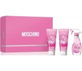 Moschino Fresh Couture Pink Eau de Toilette for Women 50 ml + shower gel 50 ml + body lotion 50 ml, gift set
