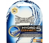 Wilkinson Hydro Connect 5 spare heads 4 pieces