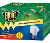 Biolit Anti-mosquito electric vaporizer with liquid filling 45 nights machine + filling 27 ml