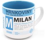 Nekupto Hrnkoviny Mug with the name Milan 0.4 liter