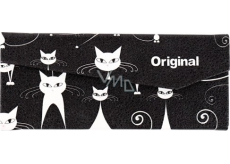 Albi Original Folding Glasses Case Cats 16 x 7 cm