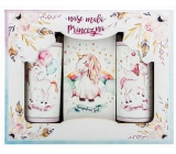 Bohemia Gifts Unicorn shower gel 100 ml + hair shampoo 100 + bath salt 110 g for children cosmetic set