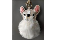 Albi Hairy keychain Dog 8 cm
