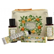 Panier des Sens Orange Flower Shower Gel 50 ml + Body Lotion 50 ml + Eau de Toilette 3.5 ml + Hand Cream 30 ml, Travel Gift Set
