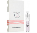 Giorgio Armani Emporio In Love with You Freeze EdP 1.2 ml Women's scent water, Vialka