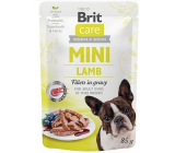 Brit Care Mini Lamb Fillets In Gravy complete super premium food for adult dogs mini breeds pocket 85 g