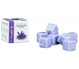 Cossack Lavender natural fragrant wax for aroma lamps and interiors 8 cubes 30 g
