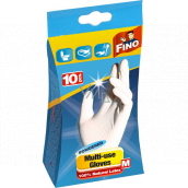 Fino Disposable powdered gloves size M 10 pieces