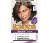 Loreal Paris Excellence Cool Creme hair color 5.11 Ultra ash light brown