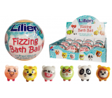 Lilien Kids Sparkling bath ball with a surprise for children 140 g