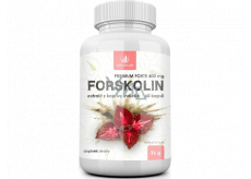 Allnature Forskolin Premium Forte 400 mg dietary supplement for athletes or weight loss 60 tablets