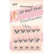 Nail Seal 3D nail stickers 1 sheet 152A 1 sheet