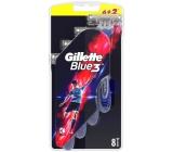 Gillette Blue 3 holítka 3 břity pro muže 6+2 kusy