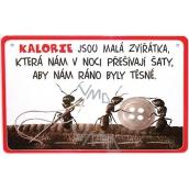 Nekupto Humor po Česku humorná cedulka 026 15 x 10 cm 1 kus