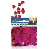 Heart confetti in bag 14 g