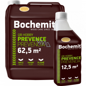 Bochemit QB Hobby protection of timber and masonry, against mold and insects, clear 1 l