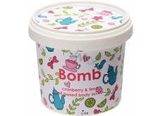 Bomb Cosmetics Cranberry and Lime - Natural Shower Body Scrub 365 ml