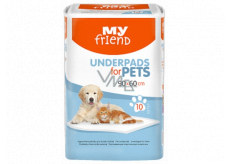 My Friend Diapers, educational mats for puppies 90 x 60 cm 10 pieces