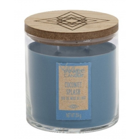 Yankee Candle Coconut Splash - Coconut Refreshing Scented Candle Wanderlust Tumbler 2 Woolen