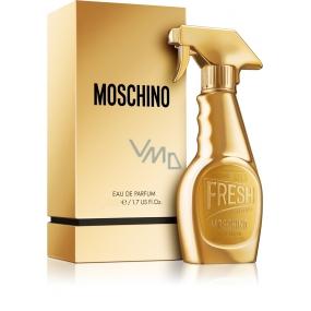 Moschino Fresh Gold EdP 5 ml Women's scent water, Miniature