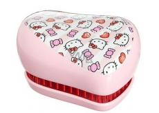 Tangle Teezer Compact Professional compact hair brush, Candy Stripes