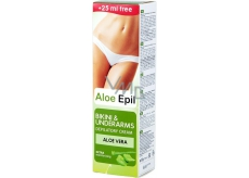 Aloe Epil Bikini & Underarms depilatory cream for underarms and bikini 125 ml