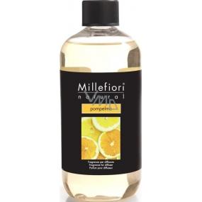 Millefiori Milano Natural Pompelmo - Grep Diffuser refill for incense stalks 500 ml