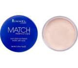 Rimmel London Match Perfection Loose Powder 001 Transparent 10 g