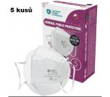 Oral protective respirator - filter half mask 4-layer FFP3, GPP3 5 pieces