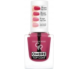 Golden Rose Ombre Top Coat lak na nehty 01 10,5ml