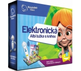 Albi Magic reading Electronic pencil + interactive talking book About gingerbread house, set, age 3+