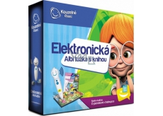 Albi Magic Reading Electronic Pencil + Interactive Talking Book About Gingerbread House, set