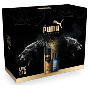Puma kaz.Live Big EDT 50ml + deo spr.150ml 2249