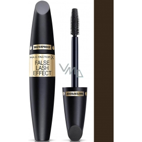 Max Factor False Lash Effect Mascara Waterproof Waterproof Mascara Black Brown 13.1 ml