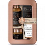 Baylis & Harding Men Ginger and Lime beard shampoo 100 ml + beard wax 50 g + beard balm 30 ml + toilet soap 25 g, cosmetic set