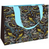 Nekupto Gift paper bag medium 23 x 17.5 x 10 cm Birds 1867 LFM