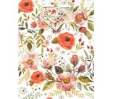 Nekupto Gift paper bag 18 x 23 x 10 cm Flowers 1874 02 KFM