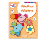 Ditipo Creative coloring book Milouškové 16 pages A4 215 x 275 mm age 3-4