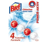 Bref Power Active 4 Formula Chlorine Wc block 51 g
