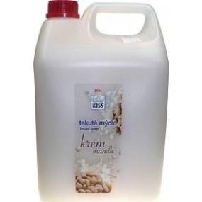 Mika Kiss Almonds liquid soap refill 5 l